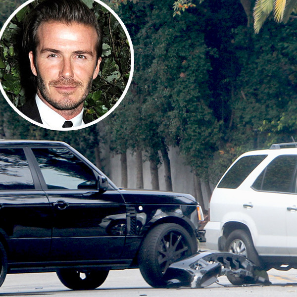 Dave White Acura Used Cars: David Beckham Involved In A Car Crash Just Outside His
