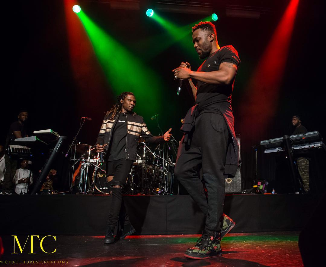 R2Bees UK with Sarkodie - NYDJ Live