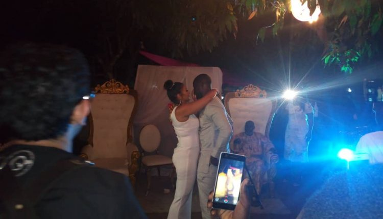 Chris Attoh Marries
