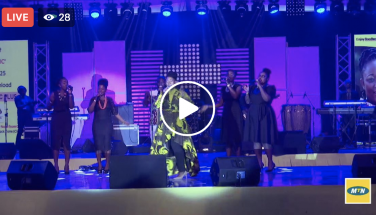 MTN Ghana Stands In Worship