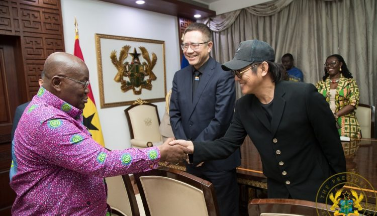 Akuffo Addo and Jet Lee