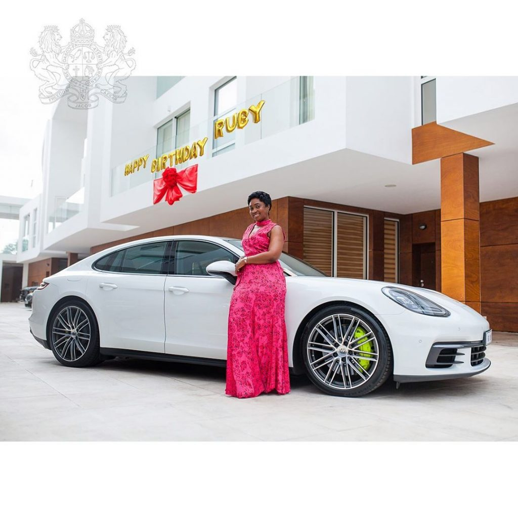 Check out Ghana's millionaire, Cheddar gifts to his wife on her birthday - video 5